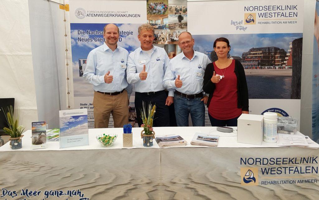 Teilnahme der Nordseeklinik Westfalen und der Forschungsgesellschaft Atemwegerkrankungen e.V