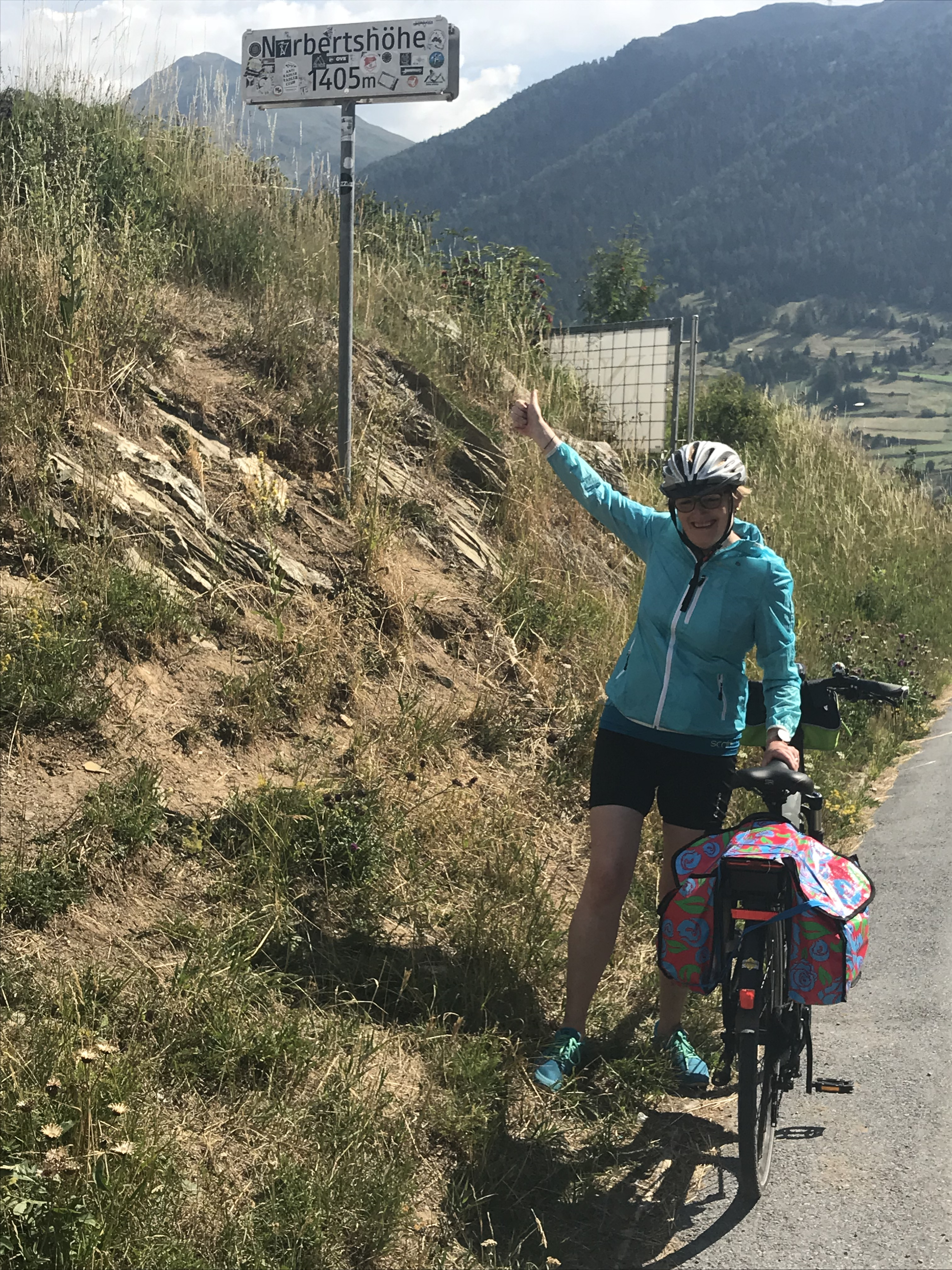 Trotz COPD mit dem Fahrrad durch die Alpen