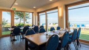 Restaurant mit Meerblick Nordseeklinik Westfalen Rehabilitation am Meer