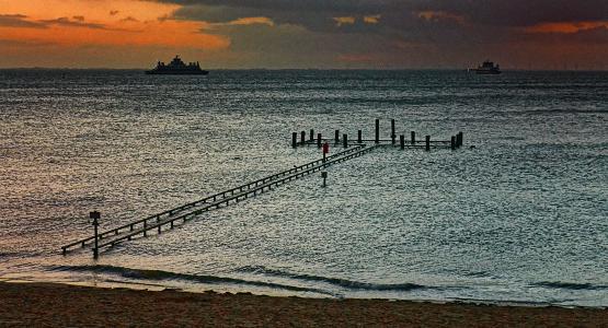 Die Nordseeinsel Föhr - das Wattenmeer und die Gezeiten