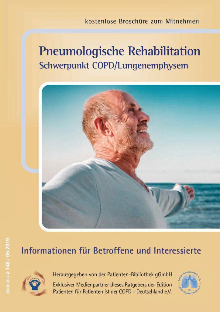 Broschüre Pneumologische Rehabilitation Nordseeklinik Westfalen